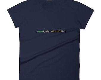 CSS 4th of July Women's short sleeve t-shirt