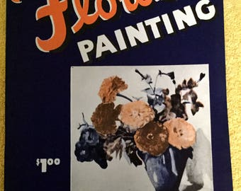 Flower Painting by Jane peterson  1946