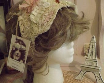 Sweet N Sassy Shabby Couture Art tp Wear Head Band for Back to School Ready to Ship