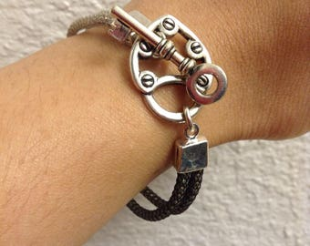 Key to My Heart Love Knot Bracelet
