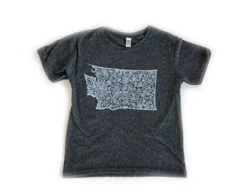 Margot's WA Youth T-Shirt-Crew neck-Royal Apparel Eco Tri Blend Tee-Organic cotton, recycled poly and rayon.