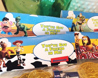 Print Your Own! Toy Story Labels for Favor Bags