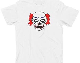 Clown shirt scary clown shirt joker shirt horror shirt scary shirt monster clown shirt mens shirt boys shirt teen shirts clown printed shirt