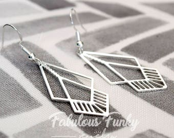 Sterling Silver earrings - geometric