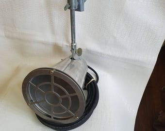 Vintage Bell Systems Ma Bell Industrial Light Lamp Functioning