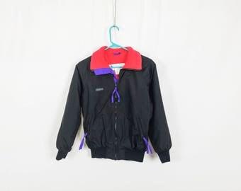 The Black & Neon Columbia Sportswear Jacket