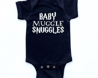 Baby Muggle Snuggles bodysuit or tee for infants/toddlers