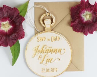 Save the Date - Pocket Watch