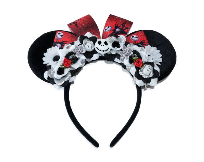 Jack Mouse Ears Headband