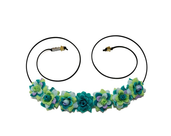 Aquarius Flower Crown