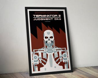 T2: Judgment Day Terminator 2 Poster Print