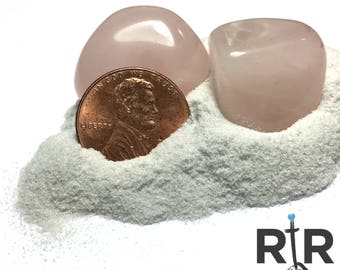 Crushed Rose Quartz Powder - 100% Natural Stone Without Fillers
