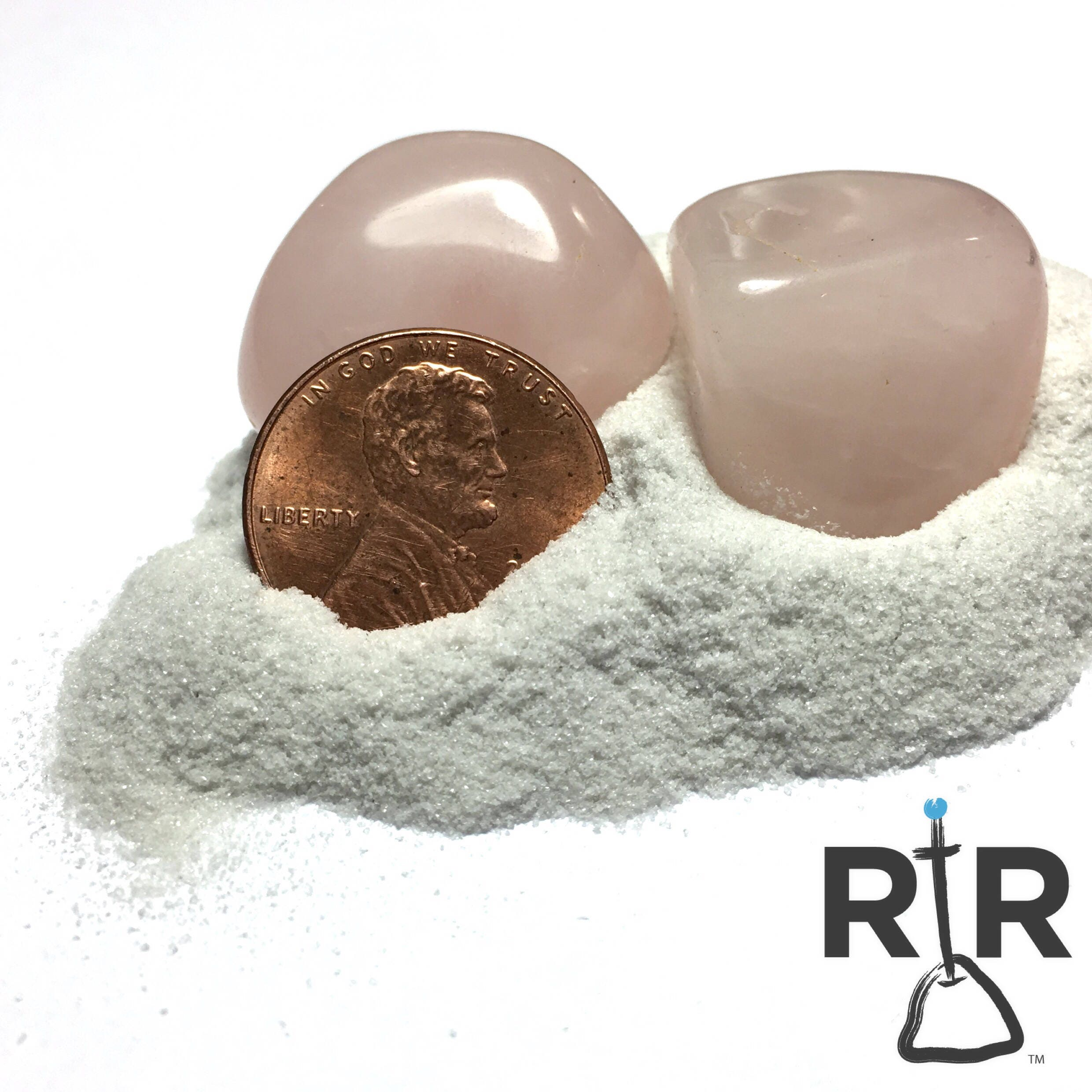 Crushed Marble Powder : Crushed rose quartz powder natural stone without