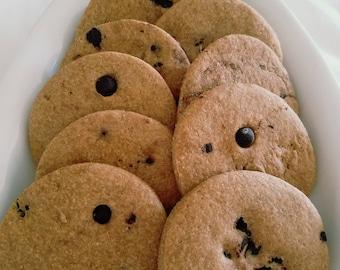 Carob & Peanut Butter Cookies