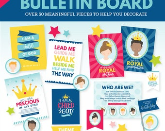2018 LDS Primary Theme Bulletin Board - I am a Child of God