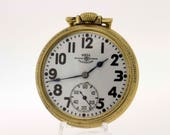 Ball Cleveland Railroad Pocket Watch 21 Jewel Movement
