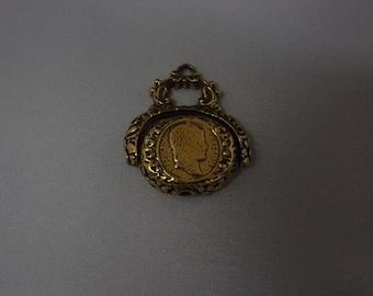 Vintage Victorian Gold Filled Fob