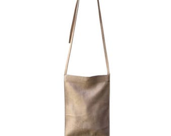 Biege crossbody leather bag,Biege leather clutch,Biege evening bag,Biege crossbody bag