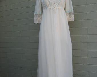 Vintage Mary Barron 2pc lingerie nylon sleep wear
