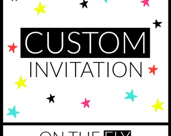 Custom Invitation Thank You and RSVP Design Create The Perfect Invitations For Your Event