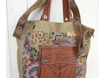 "mon ""Seminiak"" *handbag  *leather  *hobo"