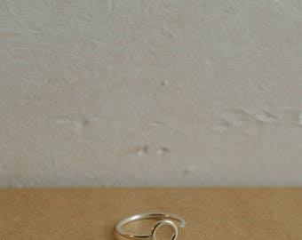 Orbit Ring • Adjustable Ring • Circle Ring • Minimalist Ring • Sterling Silver Ring