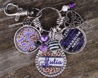 Personalized SWEET 16 GIFT, Sweet 16 Gift, Gift for Sweet 16, Sweet 16, Sweet Sixteen, Sweet 16 Jewelry, Sweet 16 Key Chain, Personalized