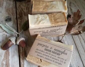 Zenzero e Vaniglia - sapone naturale vegetale artigianale