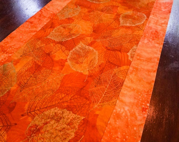 Autumn Decor-Fall Table Runner-Fall Decor-Thanksgiving Tableware-Metallic Gold-Gift