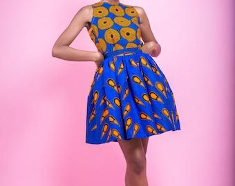 Modele de robe courte en pagne 2017