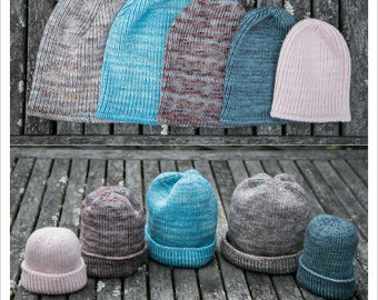 HAT KNITTING PATTERN - Stretchable Beanie
