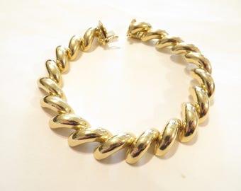 Gorgeous 14k San Marco Gold Bracelet
