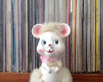 Kitsch Mouse Ornament | Made In Japan