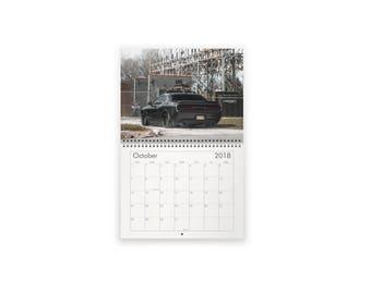 Challenger/Charger 2018 Calendar TorqueMonsters