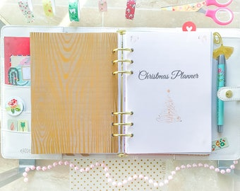 Christmas Planner Kit A5 Filofax Inserts Printable Christmas Organizer Holiday Planner A5 Christmas Decorations Meal Planner PDF