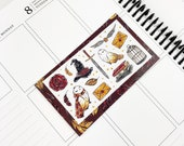 Brave // Deco (Glossy Planner Stickers)