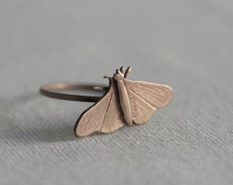"Ring ""moth"" - no me moleste mosquito"