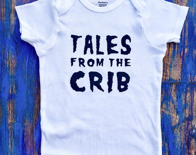 Tales From The Crib Halloween Onesie & Baby T-Shirt