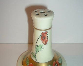 Old Handpainted PL Limoges France Hat Pin Holder