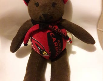 Cardinals Brown Bear by Vintage Angel