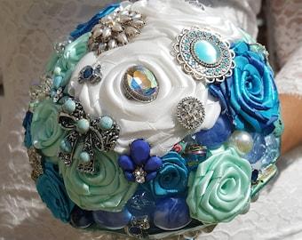 Paradise Bouquet / Wedding Bouquet / Artificial Bouquet / Artificial Wedding Bouquet / Flowers for Weddings / Brides Bouquet/