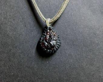 Natural Garnet Necklace