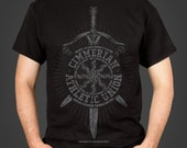 Abs of Steel - a Conan the Barbarian inspired Men's t-shirt, screen printed by hand - geek gift