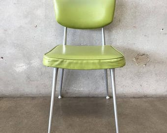 Cast Aluminum 1950's Desk Chair (22Z1XY)
