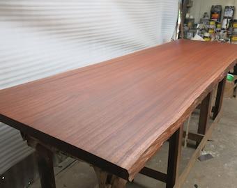 Live Edge Slab, hardwood slab, walnut slab, solid hardwood table, farmhouse table, live edge table, rustic dining table,