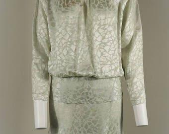 Glamorous Vintage Liz Clairborne Silk Dress – Size 12