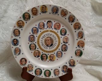 Presidential Commemorative/Collector's Plate from 1960's