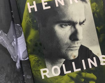 Henry Rollins Book The Portable HR Punk Rock Black Flag Rollins Band