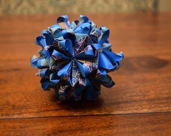 Origami Passiflora-V Variation Kusudama