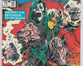 Secret Wars #10 Doctor Doom Marvel Super Heroes 1985 Marvel Comic Book High Grade Issue